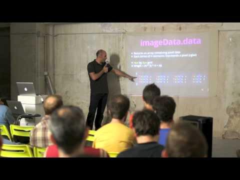 BarcelonaJS July 2013: Real-time Motion Detection in JavaScript (Paulo Avila)