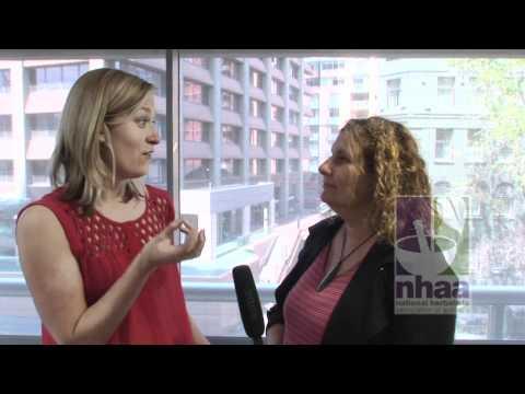 Karen Latter  talks about Lemon Balm  National Herbalists Association of Australia