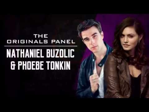 The Originals Panel Nathaniel Buzolic and Phoebe Tonkin on Oz ComicCon