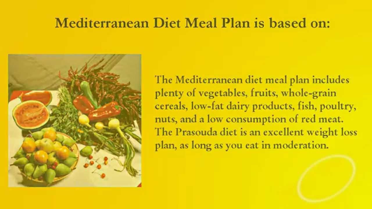 the mediterranean diet plan pdf