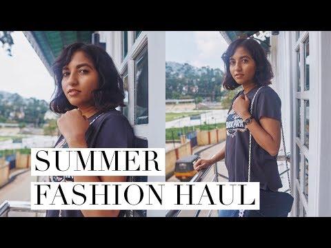 Summer Fashion Try On Haul   Online Shopping India - Ajio, H&M, Zara etc. // Magali Vaz