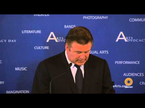 Alec Baldwin on the Importance of the National Endowment for the Arts