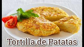 Tortilla de Patatas (Spanish Potato Omelette) Recipe | OCHIKERON | Create Eat Happy :)