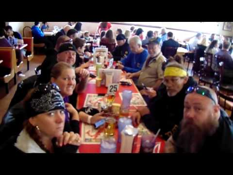 Lunch @ Roma's Pizza in Bethalto, IL. after the Biker Memorial.2017