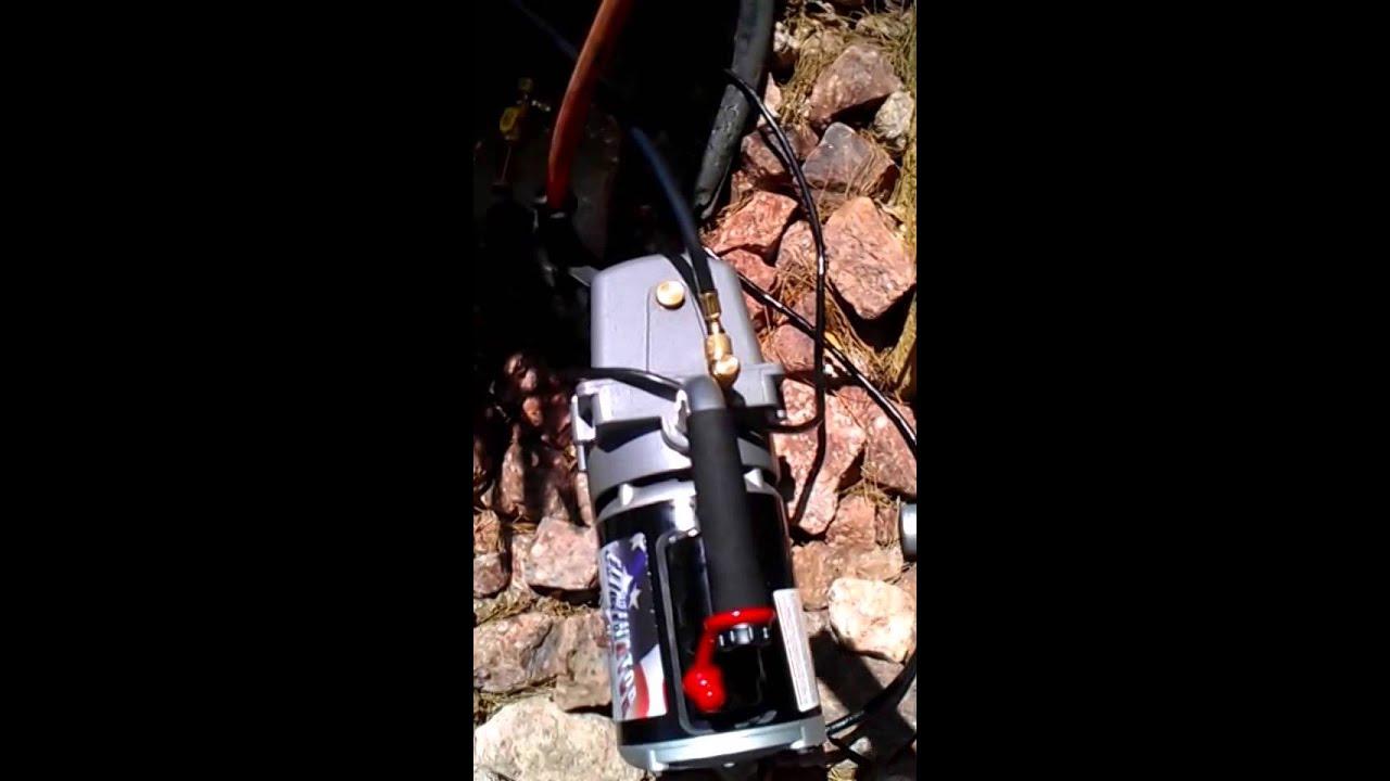 Ac vacuum pump hookup