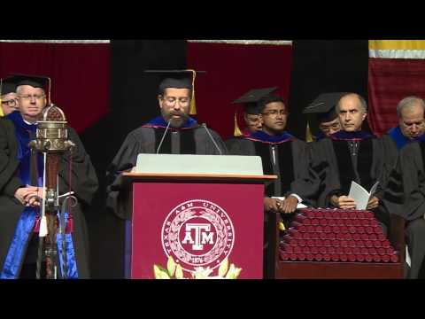 Texas A&M University at Qatar commencement 2017