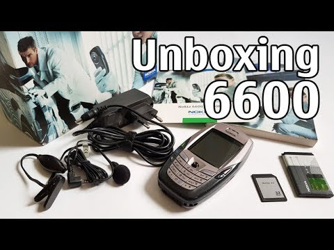 Nokia 6600 Unboxing 4K with all original accessories NHL-10