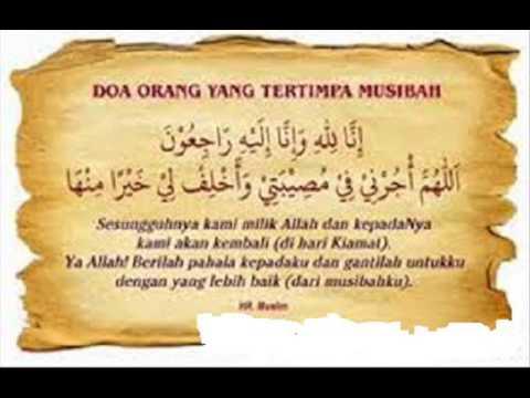 Doa agar Musibah Berganti Indah