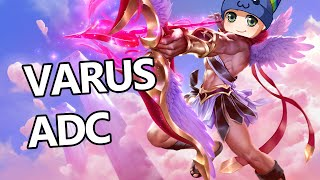 League of Legends - Varus ADC - Full Gameplay Commentary