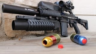 Insane A5 (M5) Paintball Marker - Full Parts Breakdown and Assembly