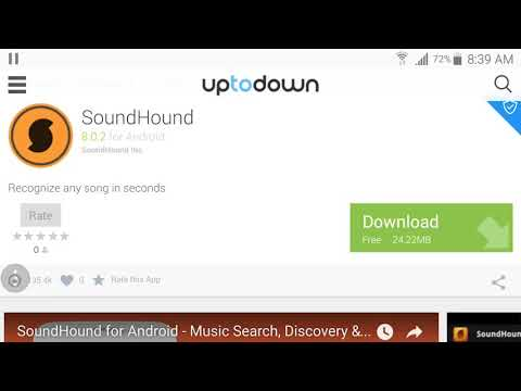 SOUNDHOUND (MUSIC RECOGNITION) - YouTube