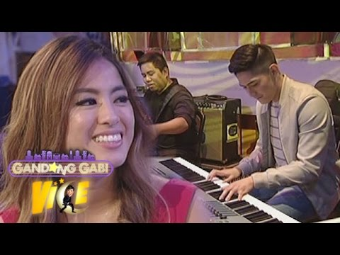 GGV: Robi plays 'A Thousand Years' in piano