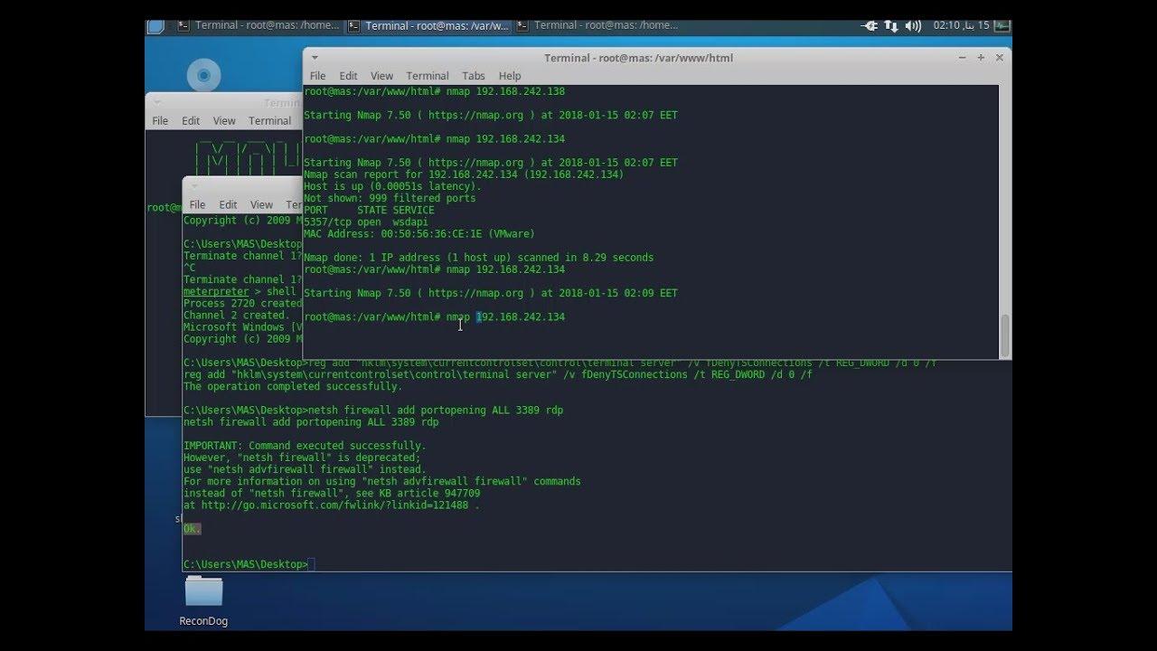 windows 10 terminal server hack