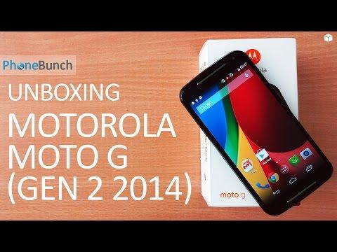 Motorola Moto G 2nd Generation Unboxing