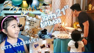 SAME DAY EDIT | LEKSEI'S COUSIN FRITZ TURNS 21+ SURPRISE BIRTHDAY GREETINGS ❤ | LEKSEI'S WORLD