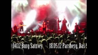 TANZWUT Live Festivalshow Rockshow - Tourtermine 2012