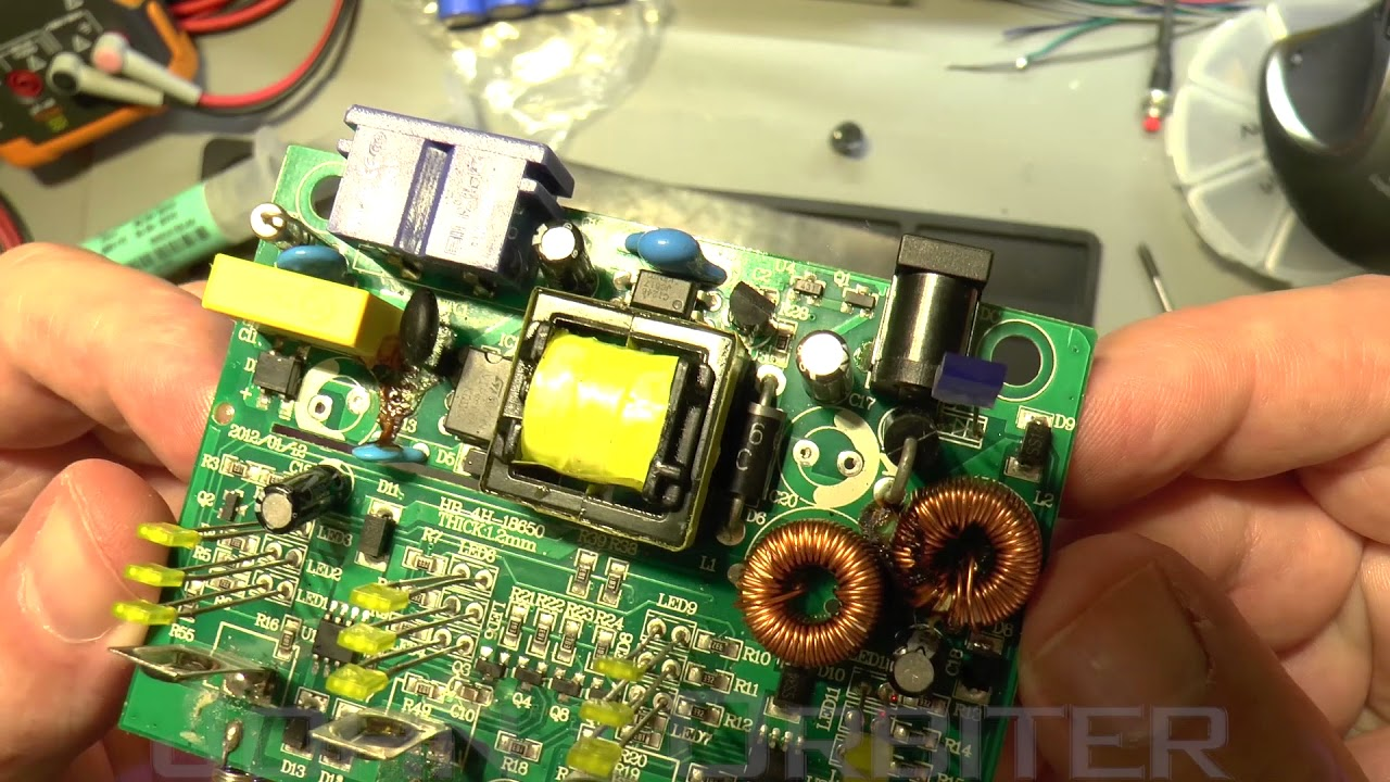 Nitecore Intellicharge I4 Repair Youtube Maintenance Tools Fixture Circuit Board