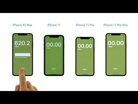 Wi-Fi Speed Test: IPhone 11/Pro/Max Vs. IPhone XS Max