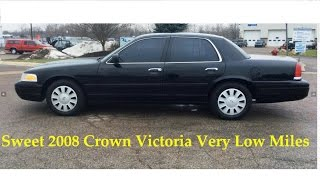2008  CROWN VIC DETECTIVES RIDE