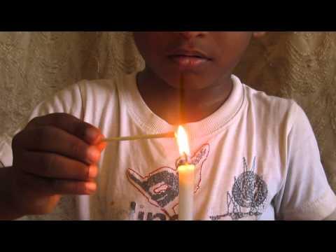 magic candle light trick