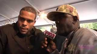 Benny Boom On Red Carpet For BET Hip Hop Awards With V-103