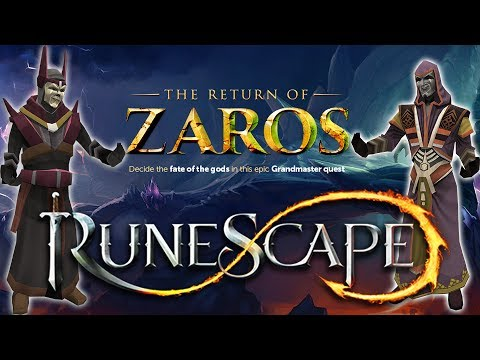 RuneScape 3: Fate of the Gods - New Quest - The return of Zaros! [Playthrough/Guide + Voices] - HD