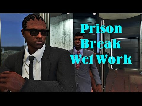 GTA 5 Online Heist: Prison Break-Wet Work