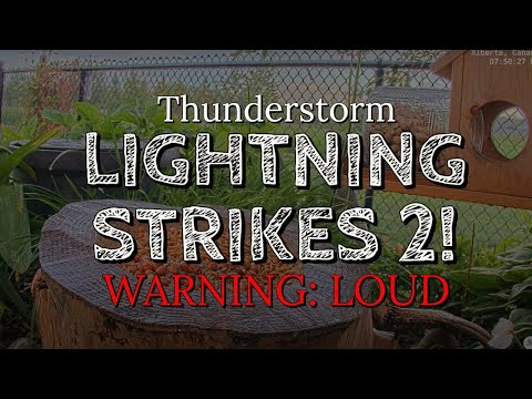 Lightning Strike Right Beside Us - Caution Very Loud from YouTube · Duration:  1 minutes 10 seconds