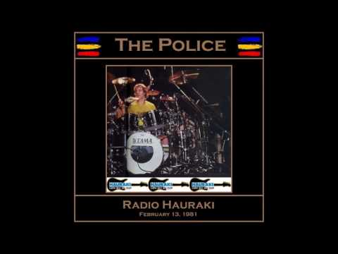 "The Police- Auckland ""Logan Campbell Centre"" 13-02-1981 (Full Audio Show)"