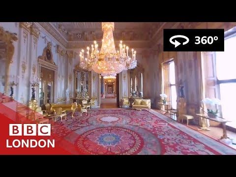 360° Video  Buckingham Palace Tour   BBC London