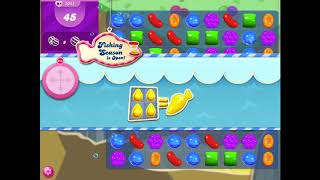 How to beat level 1045 in Candy Crush Saga!!