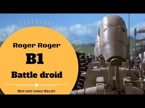 ROGER ROGER! - B1 Battle droid Lore - Canon & Legends Explained
