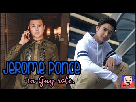 GAY ROLE; Jerome Ponce, Hindi Komportable Sa Kanyang GAY Role.