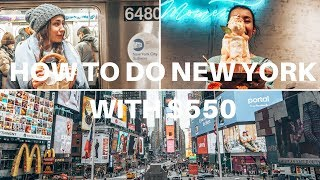5 days in New York for $550 (incl. flights and accommodation) | NYC on a budget