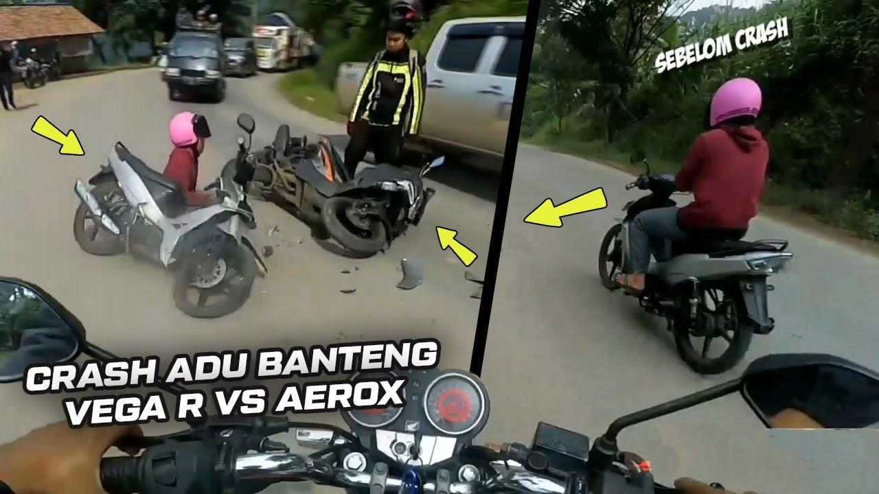 Gara2 Dipepet Mobil Pick Up - Insiden Putar Balik Ditikungan - Adu B4nteng Vega R vs Aerox || RH#123