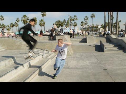 Cutting Skaters Off Wearing Heelies