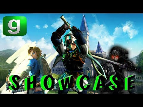 Gmod Player Model Showcase / The Legend Of Zelda / PMs And SWEPs