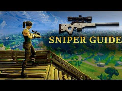 Sniper Guide - Fortnite Battle Royale