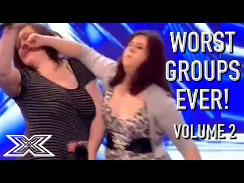 The WORST GROUP AUDITIONS On X Factor! Volume 2 | X Factor G