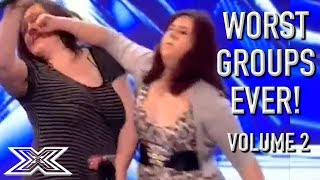 The WORST GROUP AUDITIONS On X Factor! Volume 2 | X Factor Global thumbnail