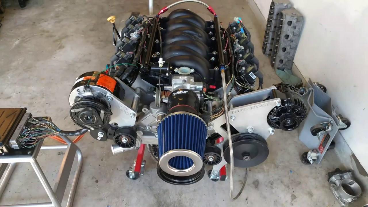 Cutlass Lq4 Engine Harness Swap And Start Up