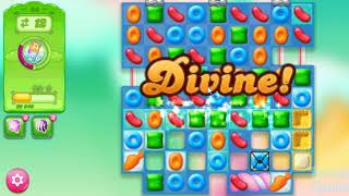 Candy Crush Jelly Saga Level 24 - No Boosters ★★★