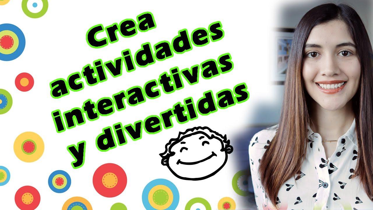Download Crea JUEGOS y ACTIVIDADES INTERACTIVAS GRATIS para tus clases onlineǀ Páginas para clases didácticas