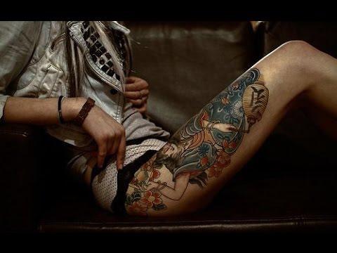 ЖЕНСКИЕ ТАТУ НА НОГЕ. Выбирай красивые татуировки