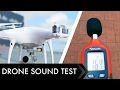 DJI Drones Sound Test - How noisy is your drone?