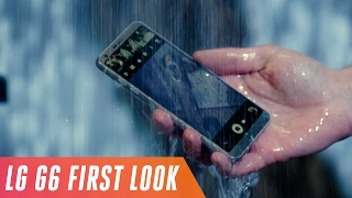 LG G6 first look by : The Verge