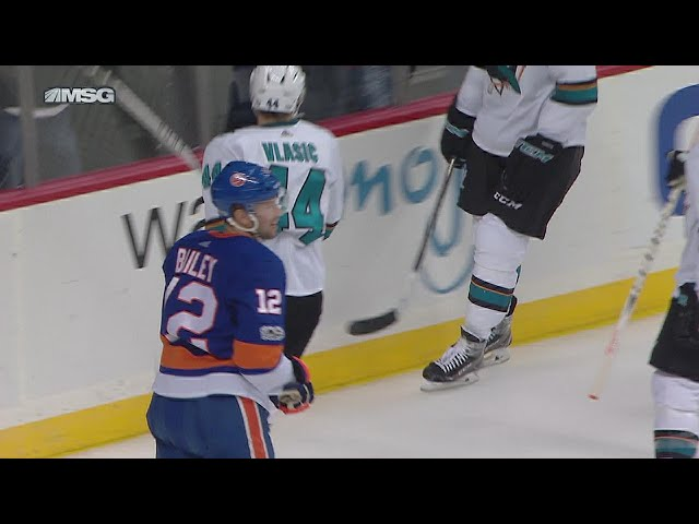 Josh Bailey goes between own legs for incredible goal