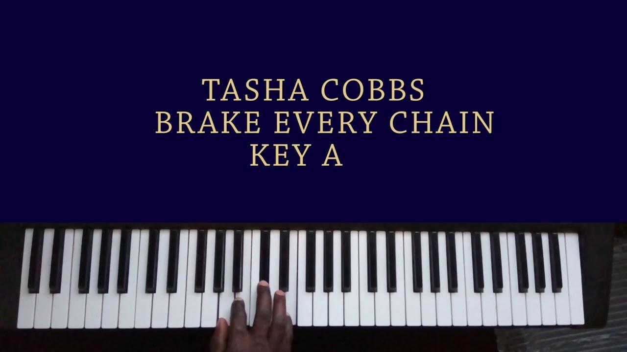 TASHA COBBS Break Every Chain Piano Chords For Beginners.