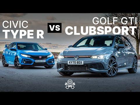 2021 VW Golf GTI Clubsport vs Honda Civic Type R | PistonHeads