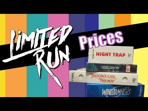 How Limited Run Games Prices Will Trend Over Time